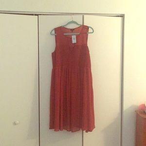 Burnt Orange Torrid Dress